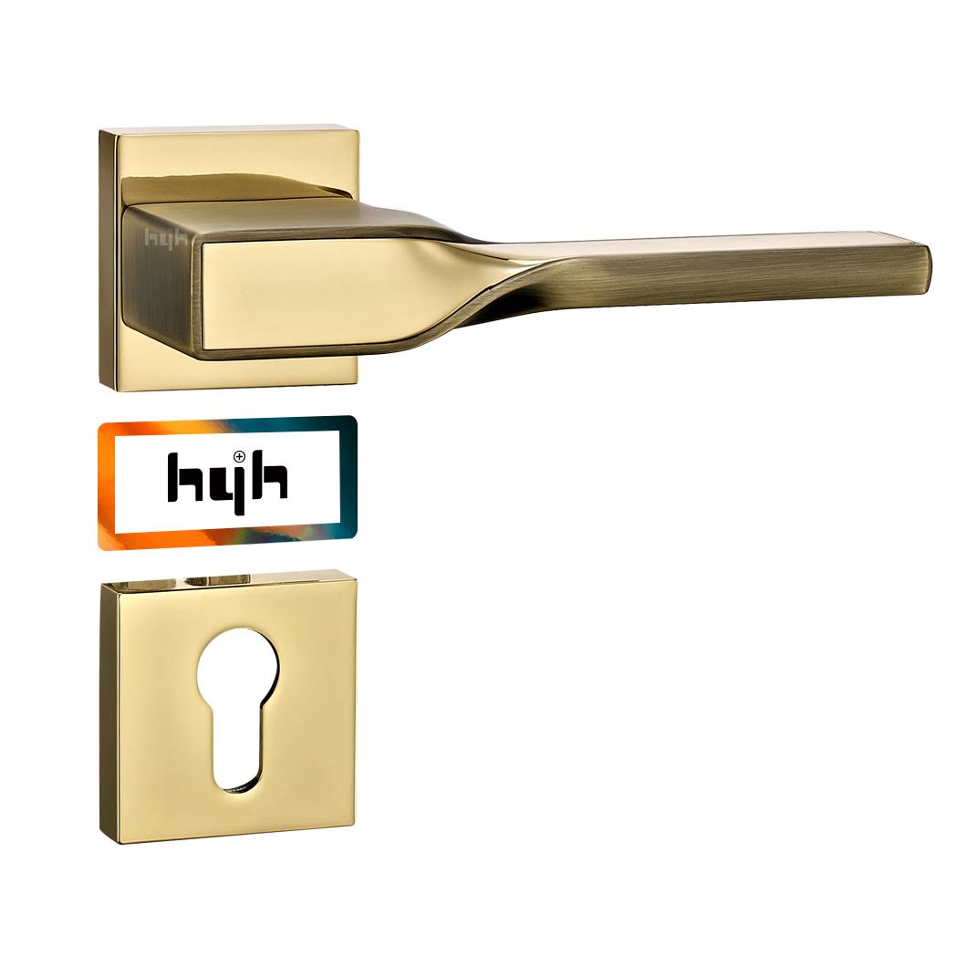 hyh New Modern Model Luxury Apartment Door Lock Lever Handle