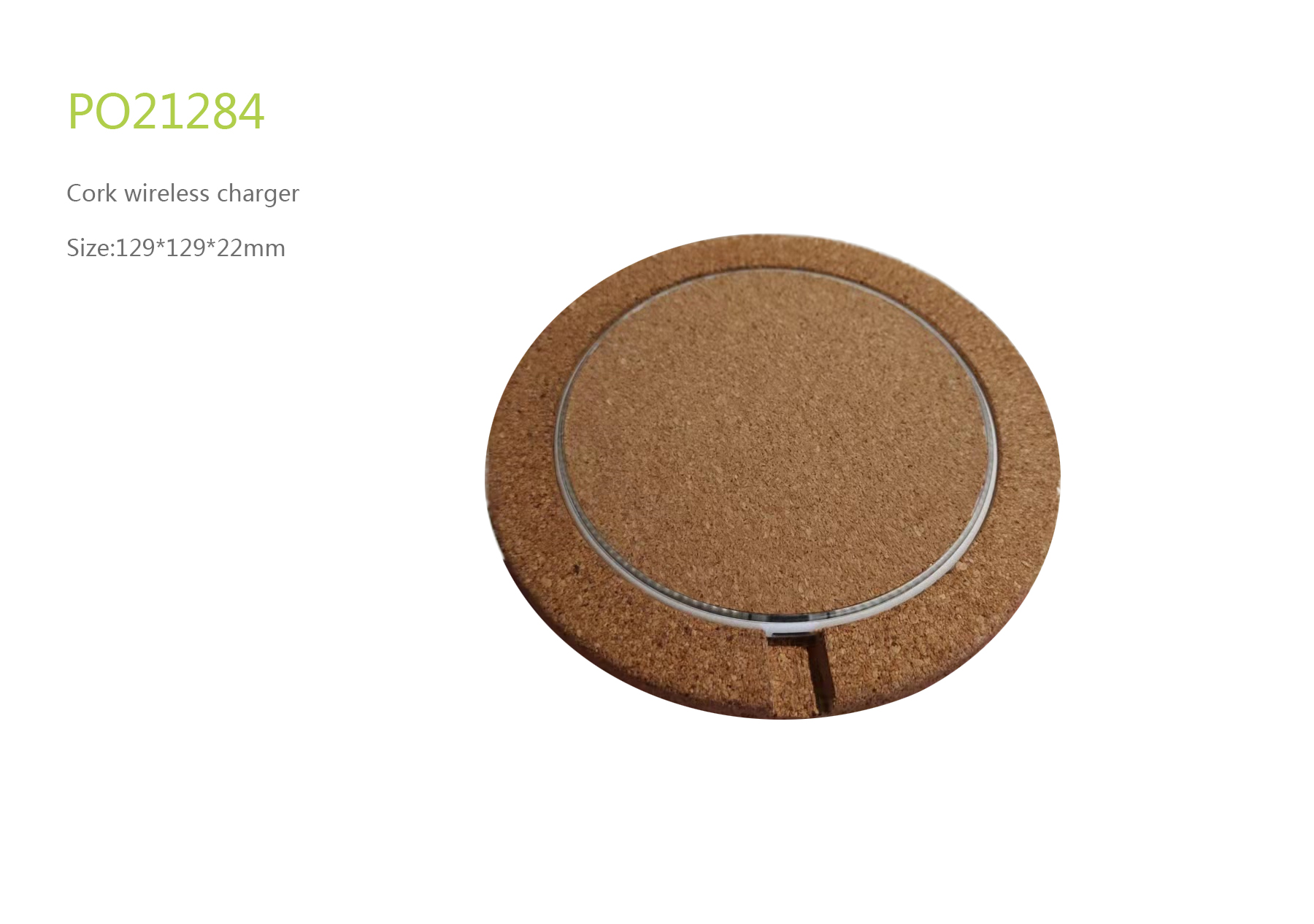 Cork Wireless Charger