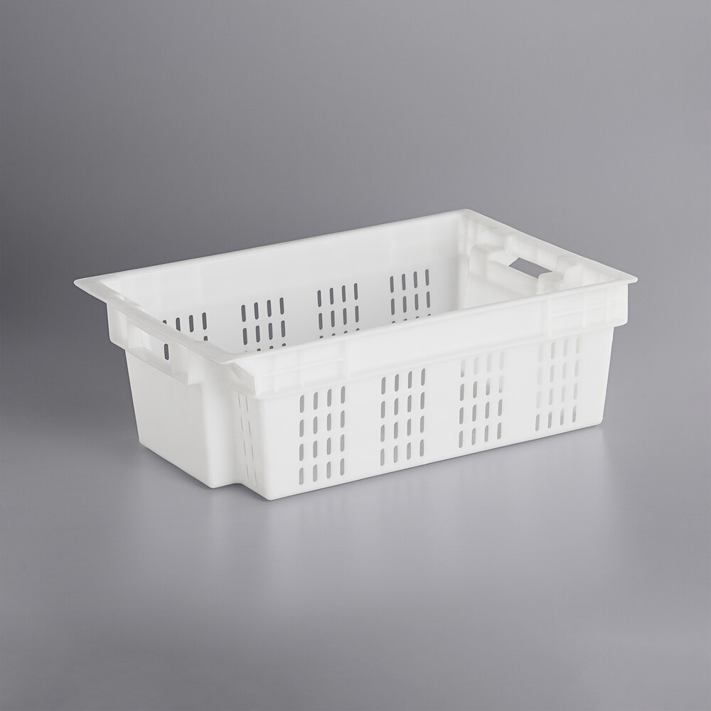 Sold bottom  vented side agriculture crate