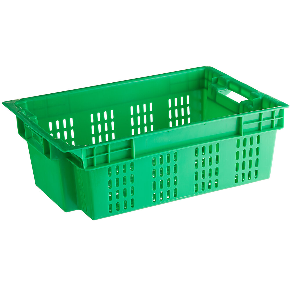 Full vented meat crate