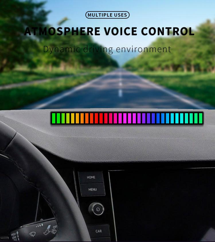 Atmosphere voice control