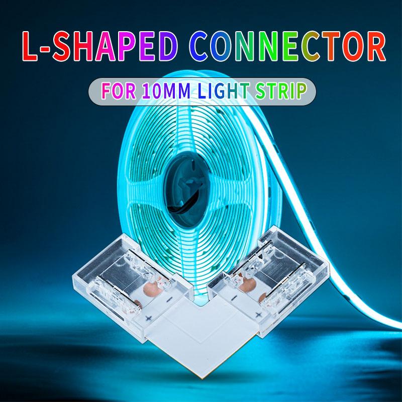 Connecteur en L pour bandes LED COB