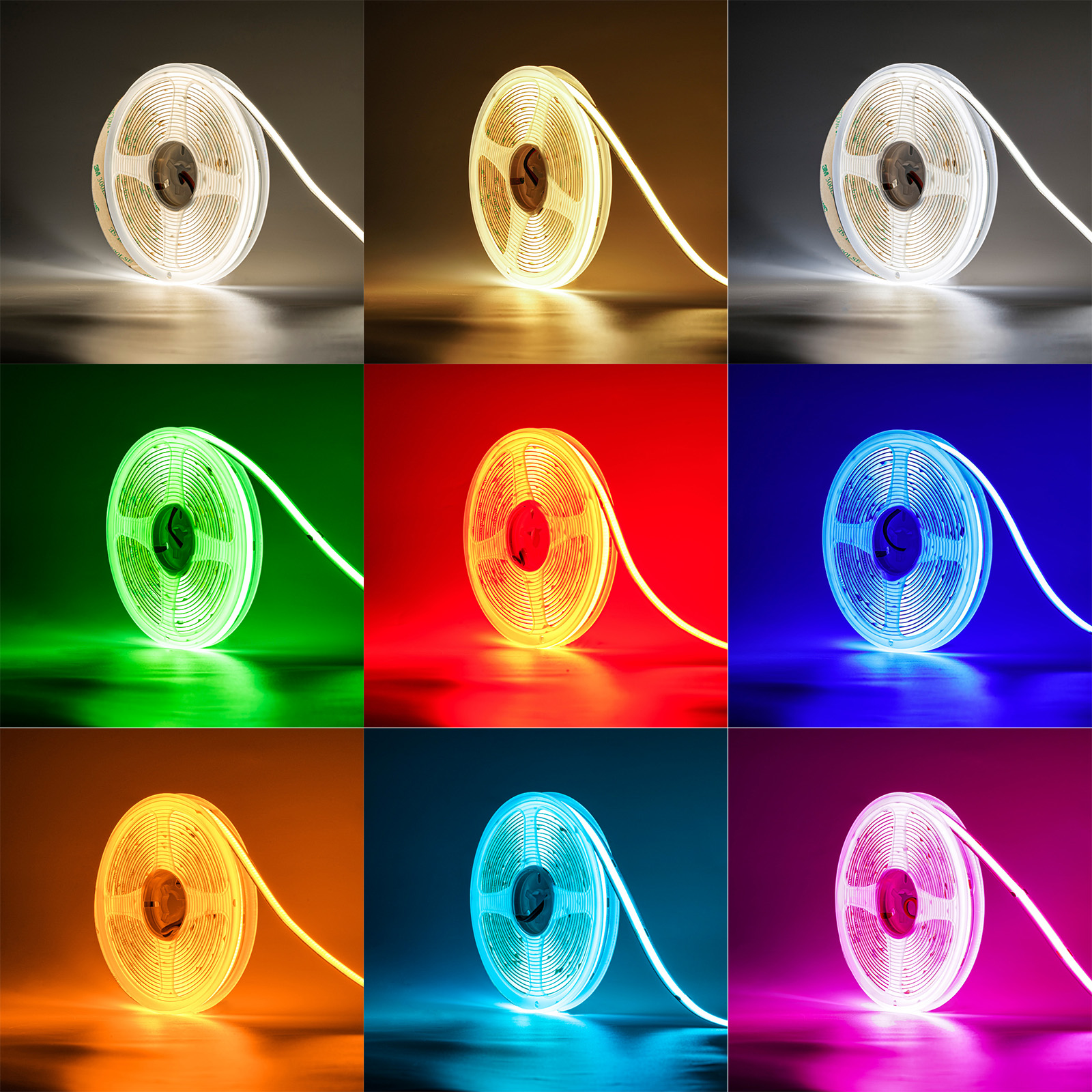 COB LED Strip Lights
