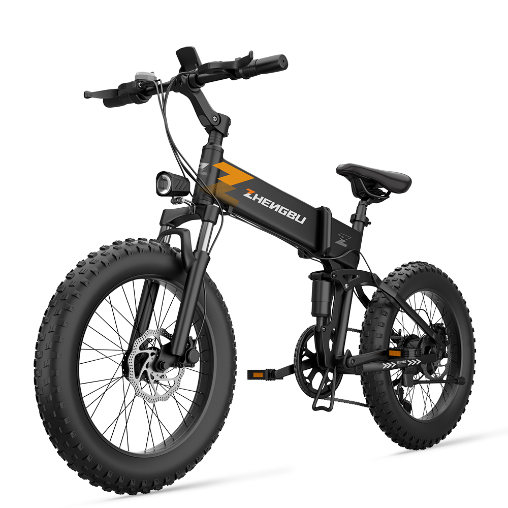 20 inch folding electric bicycle 48v fat tyre ebike 350w