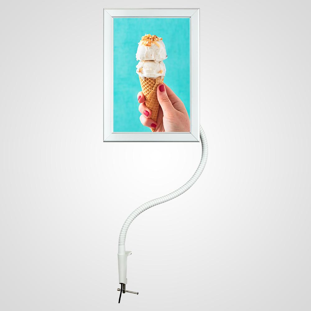 Caja de luz de tubo flexible LED