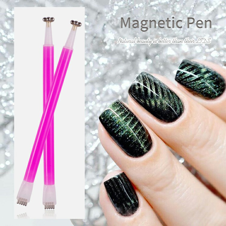 Asianail  2018 newest nail art cat eye effect magnet pen for cat eye gel polish painting