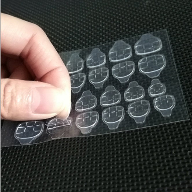 Jelly Double Sided Self Adhesive Nail Sticker